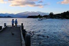 Озеро Wanaka Стоковые Фотографии RF