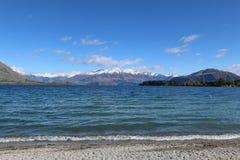 Озеро Wanaka Стоковая Фотография