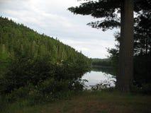 Озеро Wapizagonke Стоковая Фотография
