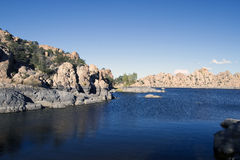 озеро watson Стоковое Изображение