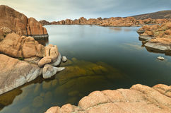 озеро watson Стоковые Фотографии RF