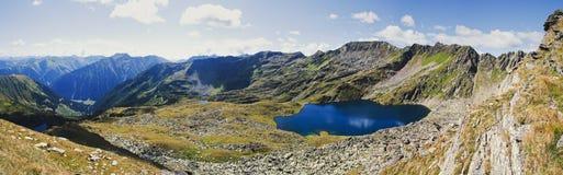 Озеро Weissensee Стоковые Изображения RF