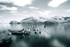 Озеро Whatcom, Bellingham, штат Вашингтон стоковая фотография