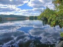 Озеро Wicwas, Нью-Гэмпшир Стоковые Фотографии RF