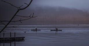 Озеро Windermere Kayakers Стоковое Изображение