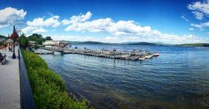 Озеро Winnipesaukee Стоковое Изображение