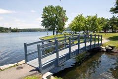 Озеро Winnipesaukee, Meredith стоковое фото rf