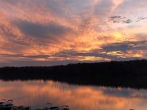 Озеро Wylie стоковые фотографии rf