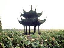 Озеро Xihu западное в фарфоре Ханчжоу Стоковая Фотография RF