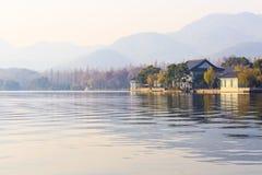 Озеро Xihu Стоковое Изображение RF