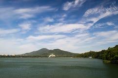Озеро Xuanwu Стоковая Фотография RF