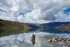 Озеро Yang Zuo Yong Co падуб Стоковое Изображение RF