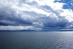 озеро yellowstone Стоковые Фотографии RF