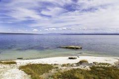 озеро yellowstone Стоковые Изображения RF