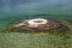 озеро yellowstone Стоковая Фотография