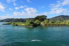 Озеро Yuchi Nantou County Тайвань лун Солнца стоковые изображения