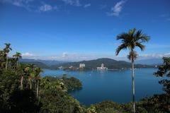 Озеро Yuchi Nantou County Тайвань лун Солнца стоковая фотография