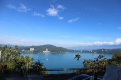 Озеро Yuchi Nantou County Тайвань лун Солнца стоковое фото rf