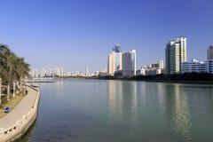 Озеро Yundang Стоковые Фото