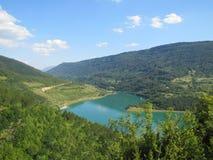 Озеро Zavoj Стоковое Фото
