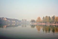 Озеро Zhengzhou Donglin Стоковые Изображения RF