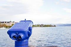 озеро zurich биноклей Стоковая Фотография