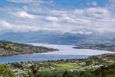 озеро zurich Стоковое Изображение RF