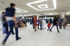 2-ой русский информационный форум робототехники и передовых технологий 2-ого октября 2016 в Ulyanovsk, России Стоковая Фотография