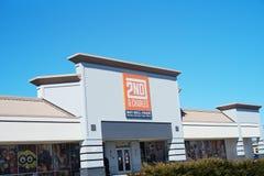 2-ой фронт магазина торговлей надувательства покупки Чарльза Стоковое Изображение RF