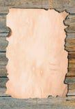 Окаимленная, котор сгорели бумага Стоковые Изображения RF
