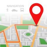 локационные сервисы Стоковые Фотографии RF