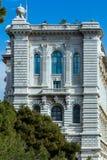 Океанографический музей Монако стоковое изображение