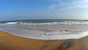 Океанские волны Shi Lanka акции видеоматериалы