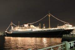 Океанский лайнер Hikawa Maru Стоковые Изображения RF