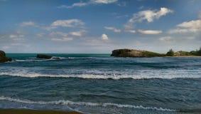 Океаны Пуэрто-Рико Стоковая Фотография RF