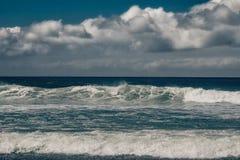 океан ландшафта бурный Стоковые Фотографии RF