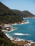 океан береговой линии Стоковое Фото