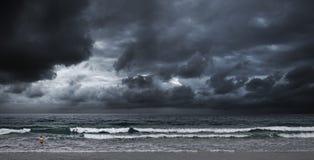 океан бурный Стоковые Фото