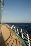океан вкладыша палубы Стоковые Фото