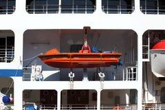 океан вкладыша lifeboat круиза Стоковые Фотографии RF
