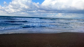 Океан в sheraton Алжира Стоковые Изображения RF