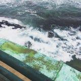 Океан Дурбан воды пристани Стоковое фото RF