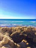 Океан летнего времени стоковые изображения rf