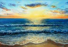 Океан и волны Стоковые Фото