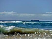 Океан и за пределами стоковое изображение rf