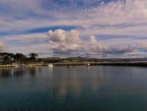 Океан и красивый пляж в Dana Point CA, США стоковое фото