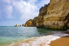 Океан и скалы Стоковая Фотография RF
