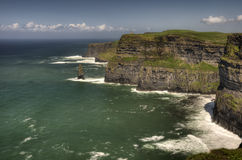 океан ландшафта скал Стоковое Изображение