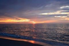 океан над восходом солнца Стоковая Фотография RF