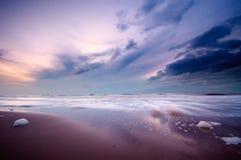океан ночи Стоковые Фото